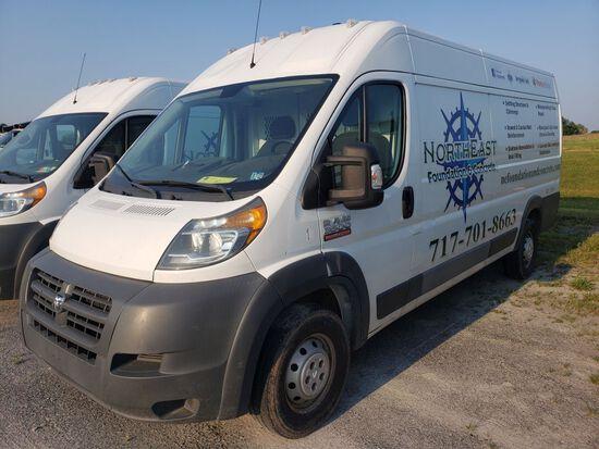 2015 Dodge Ram 3500 Promaster Cargo Van, Diesel, Automatic Transmission