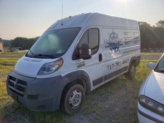 2015 Dodge Ram 2500 Promaster Cargo Van, Diesel, Automatic Transmission