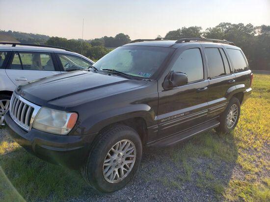 2004 Jeep Grand Cherokee Limited SUV, w/Quadra-Drive 4WD