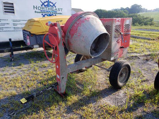 Multi-Quip Tow-Behind Cement Mixer, m/n MC64SH5, s/n C1451094