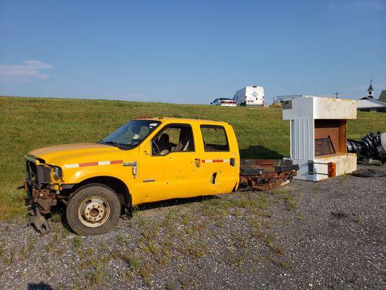 Truck w/Utility Body (As-Is) (Scrap)  (Lot)