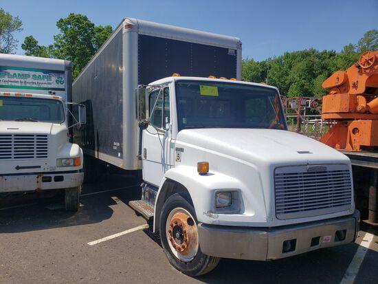 1996 Freightliner FL60 Single Axle Box Truck, 26', Diesel, 6-Speed Manual Transmission, Air Brakes
