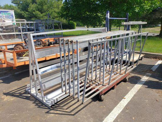 Carts & Racks, Asst.  (4 Each)  (Lot)