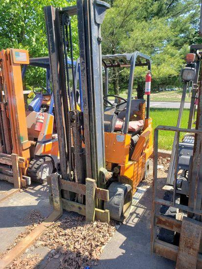 Yale LPG Forklift, m/n & s/n N/A, 5,317 Hours (As-Is) (Doesn't Run)