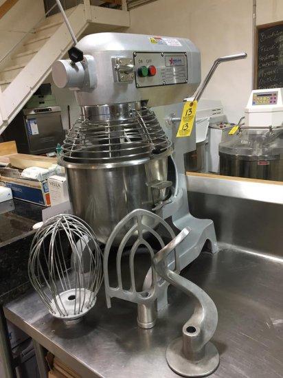 12/2012 OMCAN FOOD MACHINERY SP200A 1PH 20QT MIXER