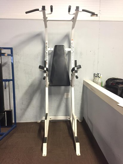 BODY MASTERS LEG RAISE, PULL-UP, DIP MACHINE | Estate
