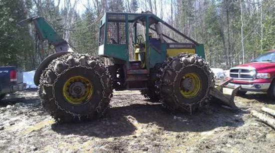 1979 TIMBERJACK 450 CABLE SKID    Auctions Online | Proxibid