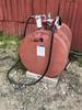 275-GALLON DIESEL FUEL TANK W/ FILL-RITE 15GPM ELECTRIC FUEL PUMP