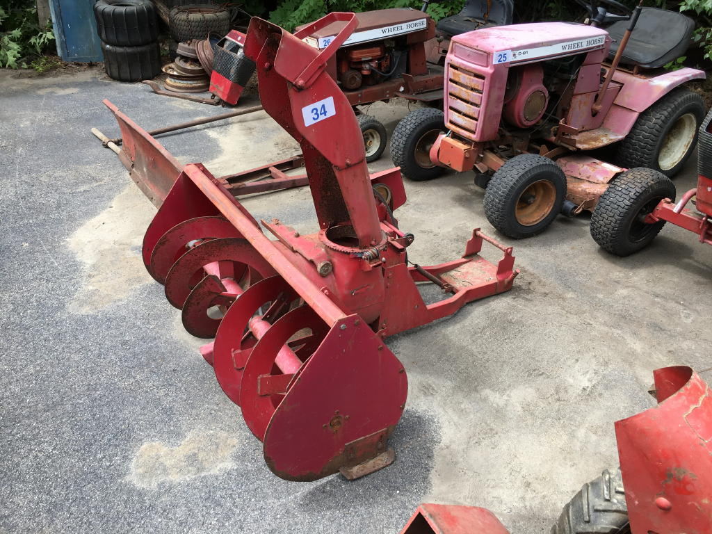Toro Wheel Horse Snow Er Attachment Heavy Construction