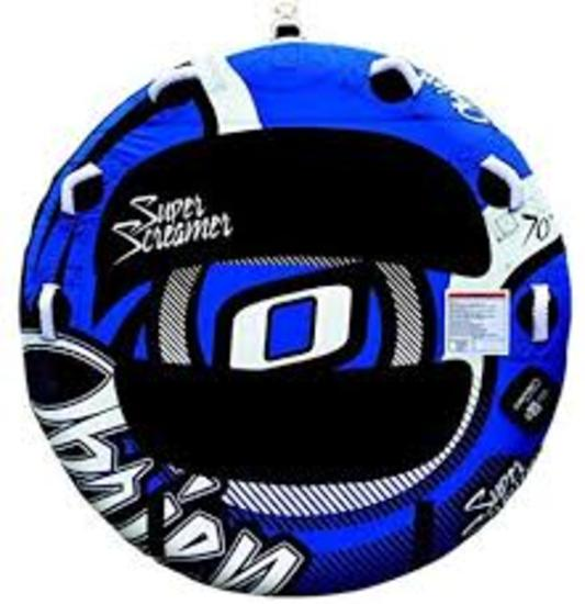 O'BRIEN SUPER SCREAMER 2-PERSON TOWABLE TUBE - $159 VALUE