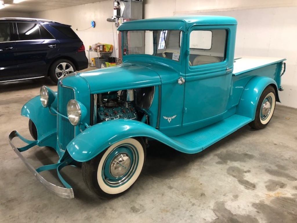 1933 FORD HOT ROD TRUCK, 06,118 MILES, S/N: 18465868