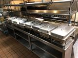 LOT: 7-STAINLESS STEEL CHAFERS W/ INSERTS & COVERS