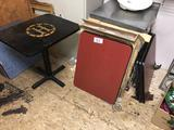 LOT: 9-LAMINATE TABLE TOPS, 24