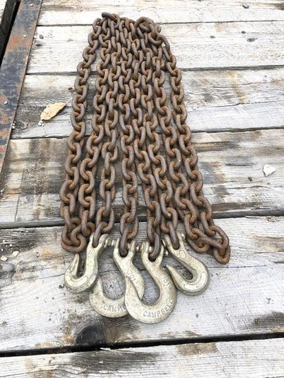 8' CHAINS WITH HOOKS