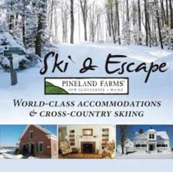 PINELAND FARMS SKI & STAY PACKAGE - XC/SNOWSHOE PASSES, LODGING - $1,172 VALUE