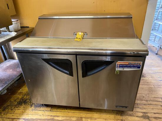 "TURBO AIR MODEL TST-48SD 48"" SANDWICH PREP TABLE, S/S, S/C, S/N: S412608005"