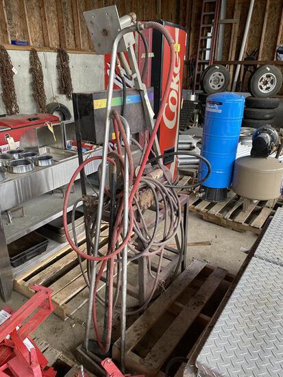 FUTURA CAR WASH PUMP SYSTEM, W/ GENERAL PUMP T991 T SERIES 50