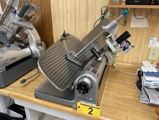 HOBART MODEL 1612E COMMERCIAL DELI SLICER, 1/3 HP, 1PH, S/N: 56-930-300