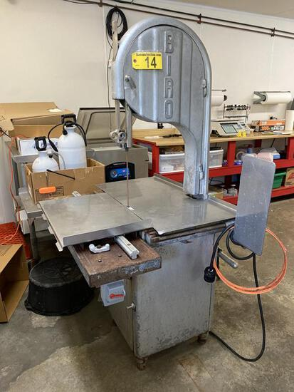 BIRO MODEL 34 COMMERCIAL MEAT BAND SAW, S/N: 4150