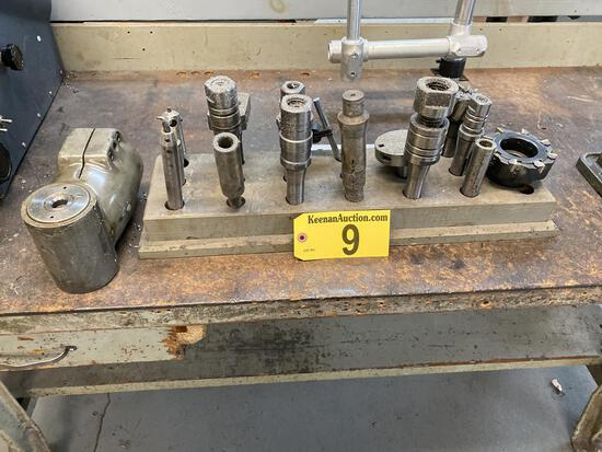 ASSORTED TOOLING & RIGHT ANGLE HOUSING