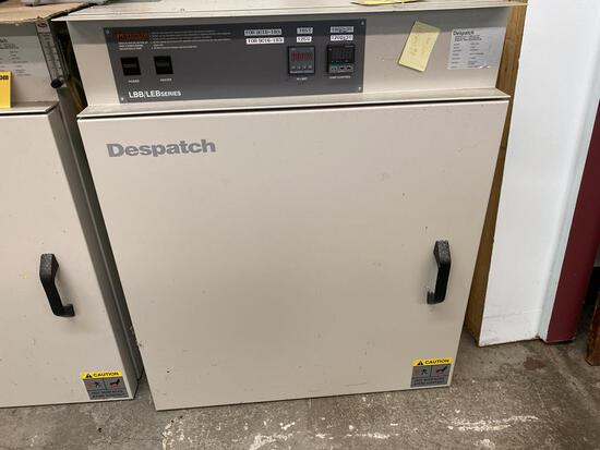 DESPATCH FORCED CONVECTION BENCHTOP OVEN, MODEL LBB1-43B-1, 1600-WATT, S/N: 179887
