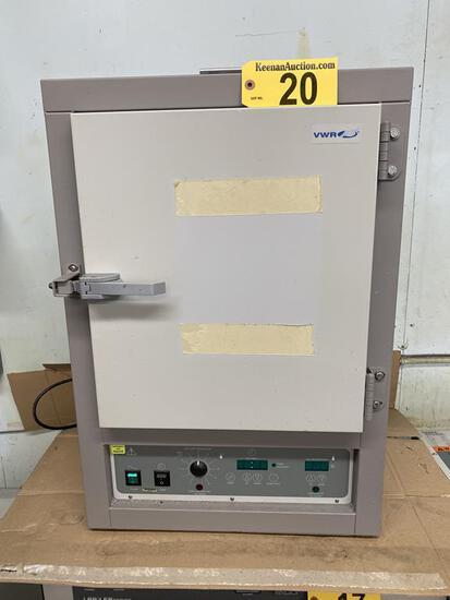 VWR SCIENTIFIC MODEL 1350FM, 1500-WATT FORCED AIR OVEN, S/N: 0100102