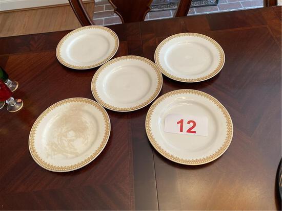 "LOT OF (5) 8"" PLATES, J&G MEAKIN HANLEY ENGLAND"