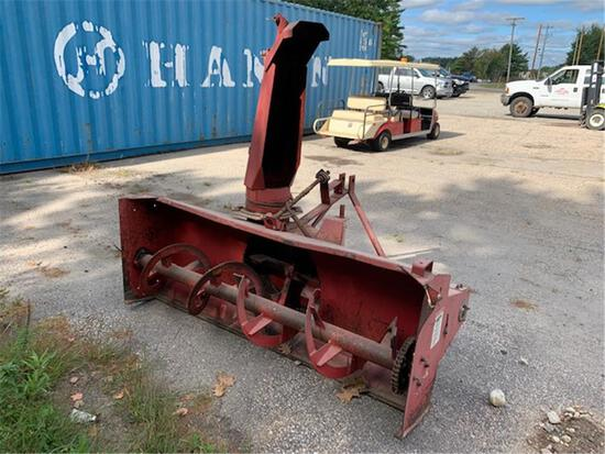 FORAGE KING METEOR SB75FC SNOW BLOWER ATTACHMENT, 3-POINT HITCH, S/N: 2010307