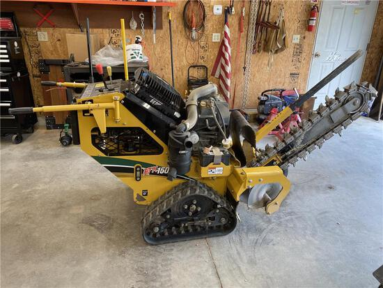 2015 VERMEER RTX150 TRACK TRENCHER W/AB26 BACKFILL PLOW, 87 HRS., S/N: 1VRB070Y1G1000634