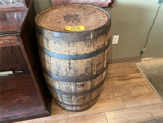 2013 CLERMONT SPRINGS WHISKEY BARREL