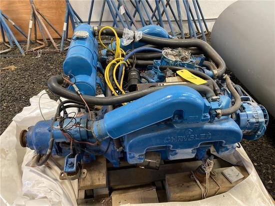 CHRYSLER LM318 MARINE ENGINE, V8 GAS, 318 CID