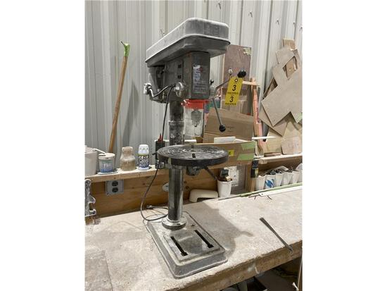 ORBIT MODEL OR14-12 5-SPEED BENCH DRILL PRESS, S/N: 13405