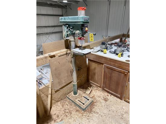 GRIZZLY MODEL G0485/G0491 FLOOR DRILL PRESS