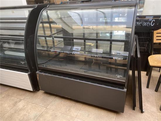 **STRUCTURAL CONCEPTS ENCORE SERIES HV48R, REFRIGERATED CURVED GLASS DISPLAY CASE S/N:428714IN221147