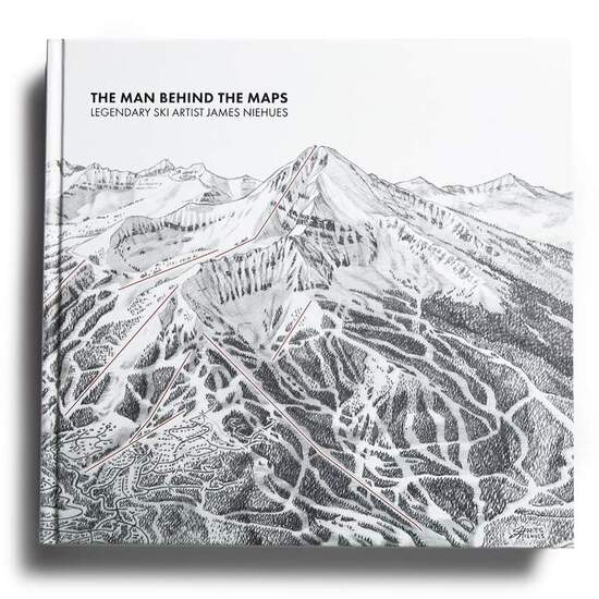 SIGNED AND PERSONALIZED SKI TRAIL MAP BOOK BY JAMES NIEHUES - THE MAN BEHIND THE MAPS - $250 VALUE