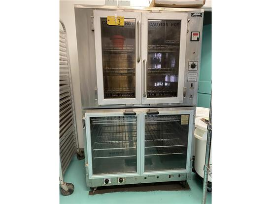 2007 DELUXE MODEL CR-2-3, 1-PHASE, 7620 WATTS, ELECTRIC OVEN/PROOFER