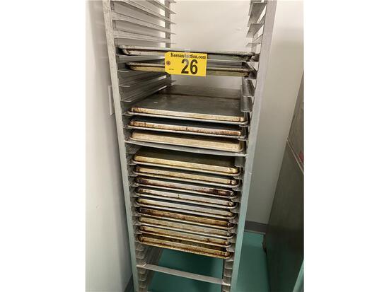 (14) ALUMINUM FULLSIZE SHEET PANS