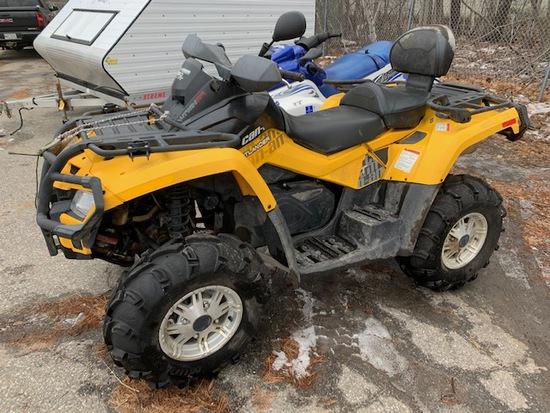 2010 CAN-AM OUTLANDER XT 650 4X4 ATV