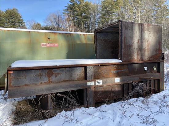 PHILADELPHIA  TRAMRAIL COMPACTOR, S/N: 018475, BROWN