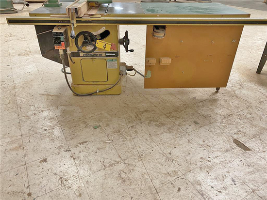 POWERMATIC MODEL 66 CABINET SAW, 3PH, W/ FENCE