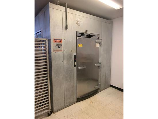 """KOLPAK WALK-IN COOLER 179""""L X 93""""W X 99""""H (NO FLOOR) BUYER TO DO ALL DISCONNECTS"""
