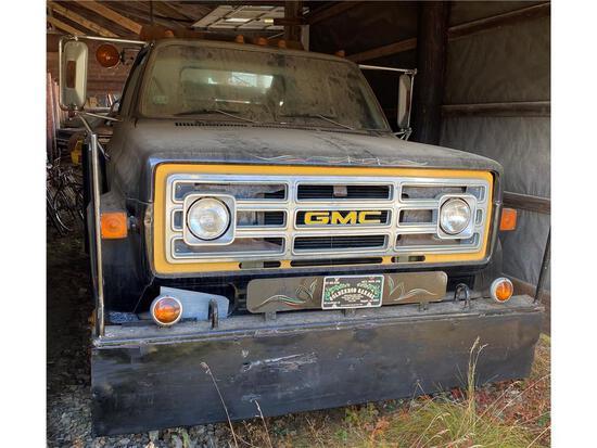 1984 GMC HIGH SIERRA W/ WELD-BUILT WRECKER, MILES: 81,428 VIN: 1GDE5D1A6EV533093 - DD
