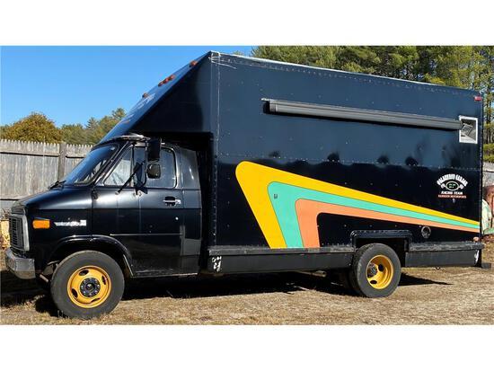 1989 GMC VANDURA G3500 CUTAWAY BOX VAN, MILES: 77,535 VIN: 2GDHG31K3K4500736
