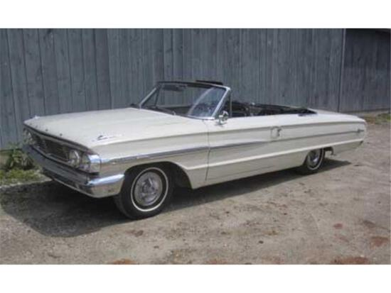 1964 FORD GALAXIE 500 XL SUNLINER CONVERTIBLE,MILES: 61,301 VIN: 4E69X285878 - DD