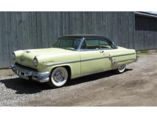 1954 LINCOLN CAPRI TWO DOOR HARDTOP, MILES: 73,315 VIN: 54WA35927H - DD