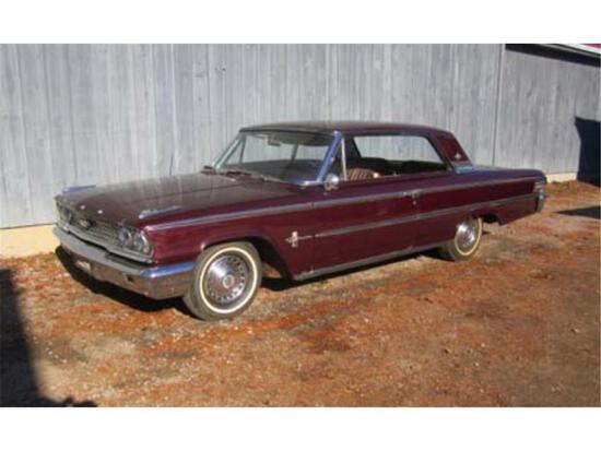 "1963 FORD GALAXIE 500 XL ""BOXTOP"", TWO DOOR HARDTOP, MILES:88,188 VIN: 3E6ZX143366 CC"