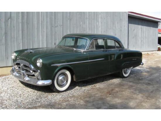 1952 PACKARD DELUXE STANDARD 8, FOUR DOOR TOURING SEDAN,  MILES: 41,982 VIN: 24629361 - DD