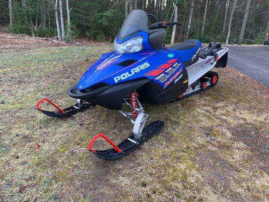2007 POLARIS SWITCHBACK 900 SNOWMOBILE **MOTOR SEIZED - PULL CORD BROKEN**