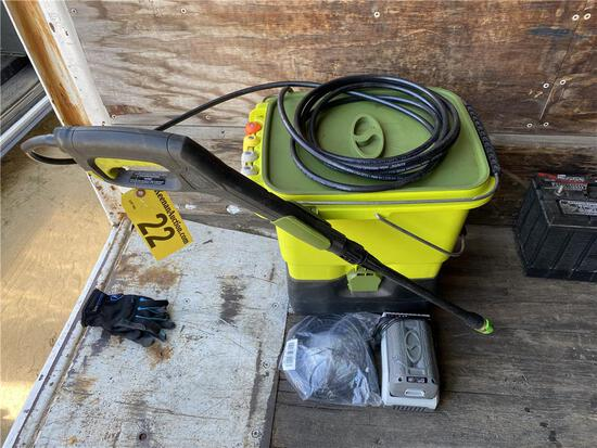 SUNJOE SPX6000C-CT 40V PRESSURE WASHER W/BATTERY & CHARGER
