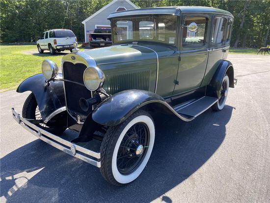 1930 FORD MODEL A 4-DOOR SEDAN VIN: A3167278, 45,127 MILES